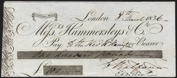 London – Hammersley 1836