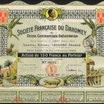 Dahomey 8667 shares