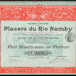 Placers du Rio Namby, Part Beneficiare