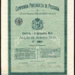 Cia Portugueza de Pescaria 1888