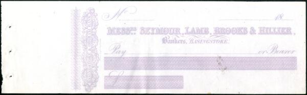 Seymour Lamb – Basingstoke