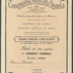 Companhia Geral de Angola 10sh