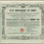 Etat Independant du Congo 1888 loan