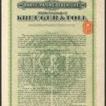 Kreuger and Toll 1.7.28 100kr