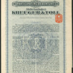 Kreuger and Toll 40kr