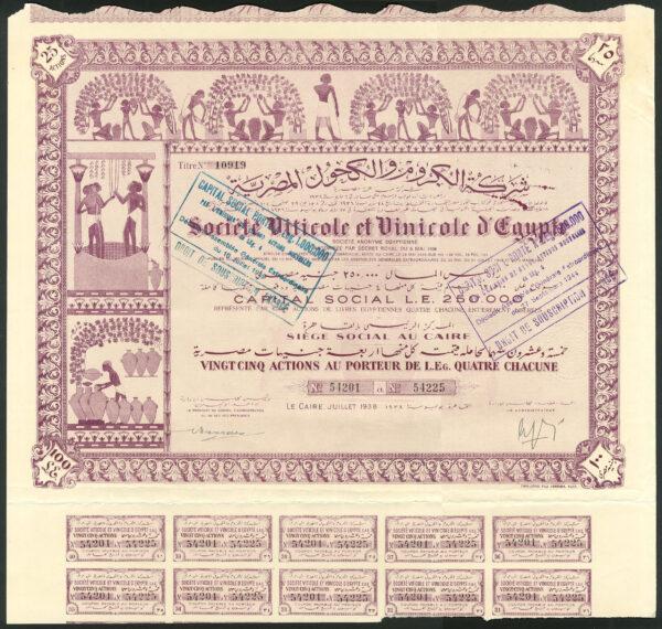 Soc Viticole et Vinicole 25 1938