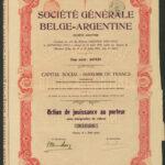 Soc Gen Belge Argentine