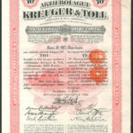 Kreuger and Toll B share 10