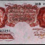 Beale-Ten-Shillings-38B-227291-1950-Dugg-265-better-than-Good-Very-Fine-382162725620