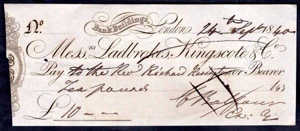 Messrs-Ladbrokes-Kingscote-Co-Bank-Buildings-London-1840-cancelled-382040311810