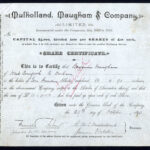 Mulholland-Maugham-Co-10-share-1890-Cornforth-Co-Durham-172431297731