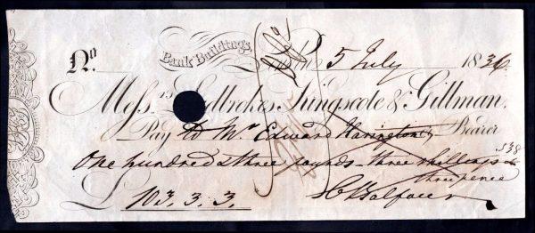 Messrs-Ladbrokes-Kingscote-Gillman-Bk-Buildings-London-1836-7-cancelled-172619345214