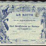 French-Congo-La-Kotto-part-beneficiaire-Paris-1907-attractive-piece-381871472905