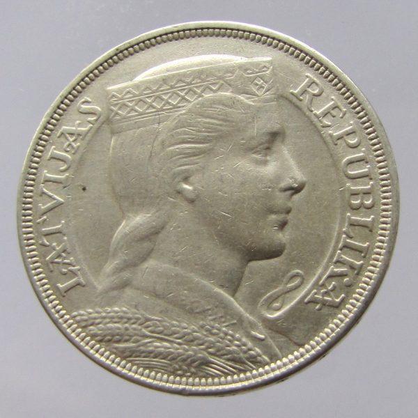 Latvia-silver-5-lats-1931-gVF-382080416786