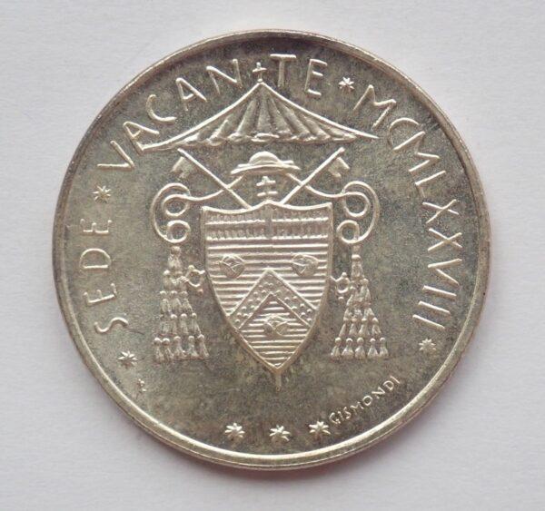 Italy-Vatican-Sede-Vacante-silver-500-lire-1978-AUNC-172837072017