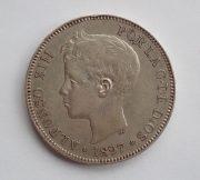 Spain-Alphonso-XIII-5-pesetas-1897-97-edge-bump-GVF-172779143958