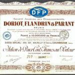 FRANCE-Doriot-Flandrin-Parant-Motor-Cars-200-franc-share-1918-172258741199